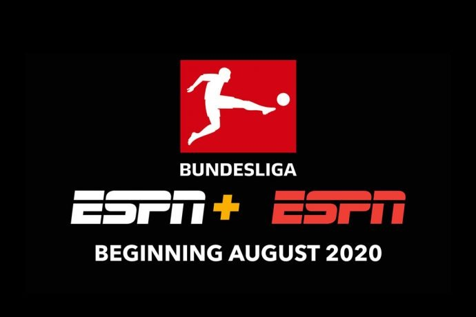 ESPN+ to be the new home of the Bundesliga in the U.S. beginning August 2020. (Image courtesy: DFL Deutsche Fußball Liga)