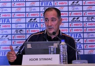 Indian national team head coach Igor Štimac. (Photo courtesy: AIFF Media)