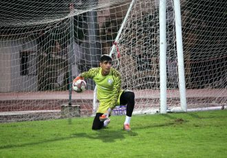 Indian national team goalkeeper Gurpreet Singh Sandhu during a trainig session. (Photo courtesy: AIFF Media)