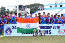 SAFF U-15 Championship 2019 winners India U-15. (Photo courtesy: AIFF Media)