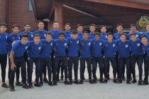 The India U-16 national team squad for the AFC U-16 Championship Qualifiers. (Photo courtesy: AIFF Media)