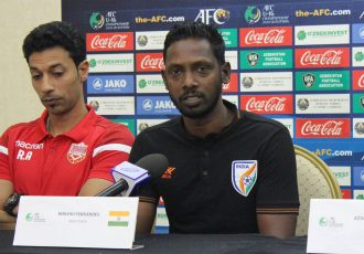 India U-16 national team head coach Bibiano Fernandes. (Photo courtesy: AIFF Media)