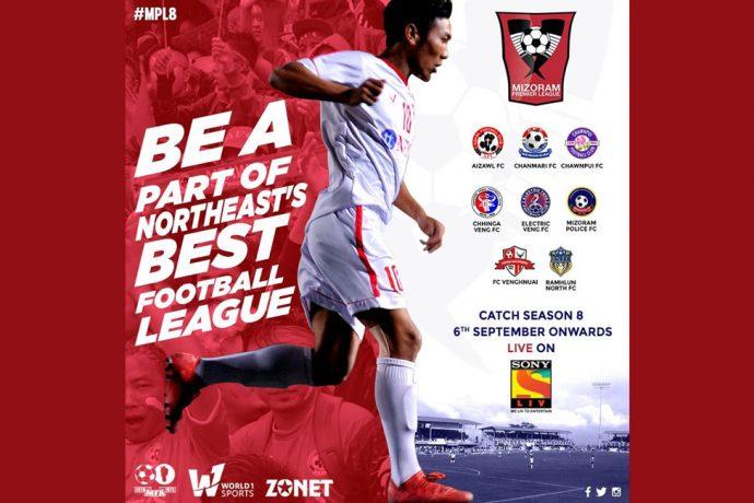 Mizoram Premier League to be shown on Sony Liv. (Image courtesy: Mizoram Football Association)