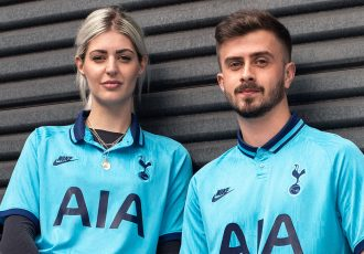 Tottenham Hotspur's go '90s retro for European campaign. (Photo courtesy: Nike)
