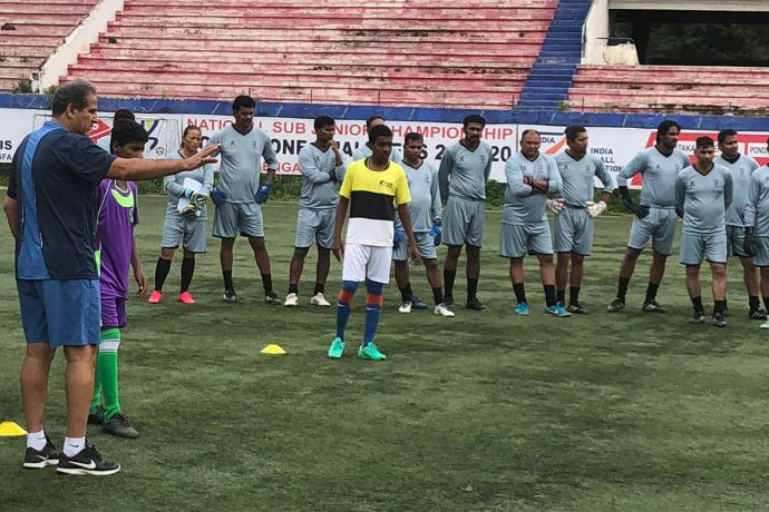 AFC Level 3 Goalkeeping Course in Bengaluru. (Photo courtesy: AIFF Media)