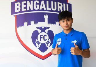 Bengaluru FC Academy striker Sridarth Nongmeikapam. (Photo courtesy: Bengaluru FC)