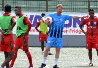 Bangladesh head coach Jamie Day. (Photo courtesy: AIFF Media)