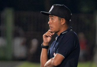 Chanmari FC head coach S Malsawmtluanga. (Photo courtesy: Chanmari FC)