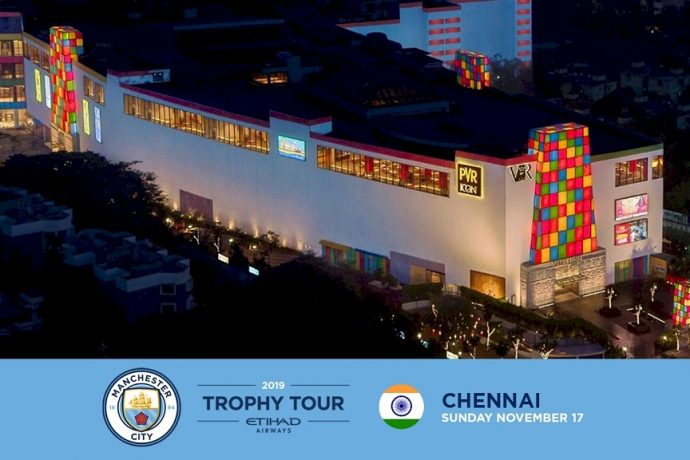 Manchester City Trophy Tour heading to India. (Image courtesy: Manchester City FC)