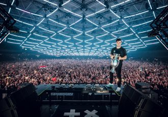 UEFA EURO 2020 Music Launch with global superstar DJ and producer Martin Garrix. (Photo courtesy: Louis van Baar / UEFA)