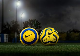 The new official 2019-20 Premier League winter match ball: Nike Hi-Vis Merlin. (Photo courtesy: Nike)