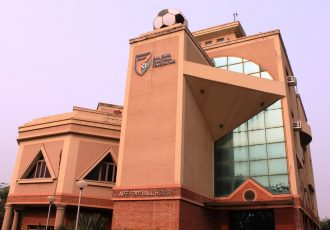 The AIFF Football House, home of the All India Football Federation (AIFF), in New Delhi. (Photo courtesy: AIFF Media)