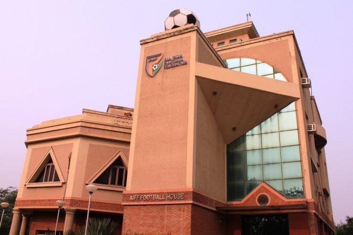 The AIFF Football House, home of the All India Football Federation (AIFF), in New Delhi. (Photo courtesy: AIFF Media)