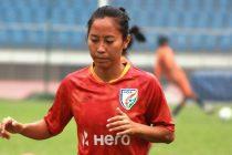 Indian Women's national team star Ngangom Bala Devi. (Photo courtesy: AIFF Media)