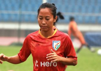 Indian Women's national team star Ngangom Bala Devi. (Photo courtesy: AIFF Media)