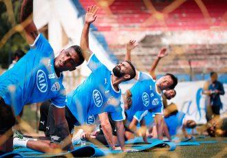 Bengaluru FC players during a training session. (Photo courtesy: Bengaluru FC)