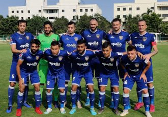 The Chennaiyin FC starting eleven ahead of their friendly match against Gokulam Kerala FC. (Photo courtesy: Chennaiyin FC)