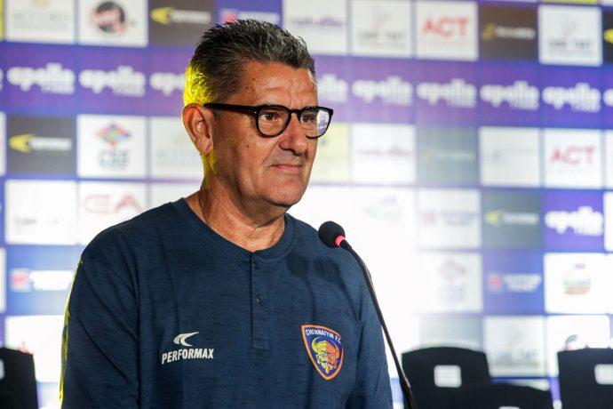 Chennaiyin FC head coach John Gregory. (Photo courtesy: Chennaiyin FC)