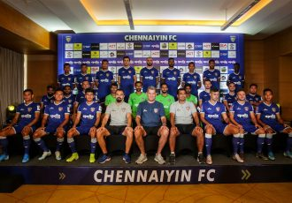 Chennaiyin FC squad for the 2019/20 Indian Super League season. (Photo courtesy: Chennaiyin FC)