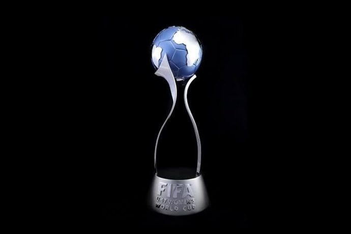 The FIFA U-17 Women's World Cup trophy. (Photo courtesy: FIFA U-17 Women's World Cup India 2020 LOC)