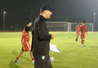 India national team head coach Igor Štimac. (Photo courtesy: AIFF Media)