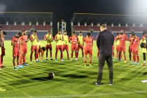 The Indian national team squad. (Photo courtesy: AIFF Media)