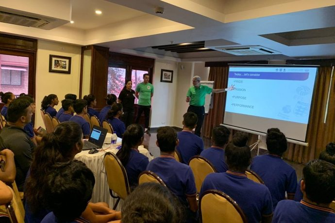 Premier League and PGMOL experts help India U-17 WNT get mentally tougher. (Photo courtesy: AIFF Media)