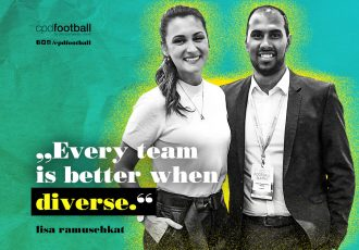 "Lisa Ramuschkat: ""Every team is better when diverse."" (© CPD Football)"