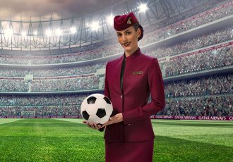 Qatar Airways is the Official Airline Partner of the FIFA Club World Cup Qatar 2019. (Photo courtesy: Qatar Airways)