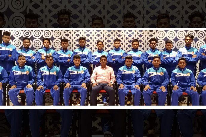 Odisha Sub-Junior Boys' State Team squad. (Photo courtesy: Football Association of Odisha)