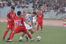 Hero I-League 2019/20 match action between Aizawl FC and Mohun Bagan AC at the Rajiv Gandhi Stadium in Aizawl. (Photo courtesy: I-League Media)