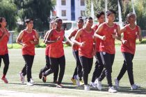 India U-17 Women's national team training session. (Photo courtesy: AIFF Media)