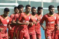 Indian national team training session at the Dubai Sports City in Dubai on November 12, 2019. (Photo courtesy: AIFF Media)