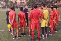 Indian national team training session in New Delhi. (Photo courtesy: AIFF Media)