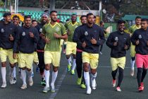 Mohammedan Sporting Club training session at the Paljor Stadium in Gangtok, Sikkim. (Photo courtesy: AIFF Media)