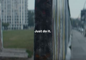 "Nike. Just do it. (Image courtesy: Screenshot - Nike ""Helden"")"