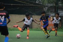 Gokulam Baby Football League in Kozhikode. (Photo courtesy: Gokulam Kerala FC)