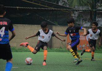 Gokulam Baby Football League in Kozhikode. (Photo courtesy: Gokulam Kerala FC)