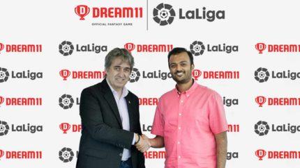 LaLiga inks five-year partnership with Dream11 in India. (Photo courtesy: LaLiga)