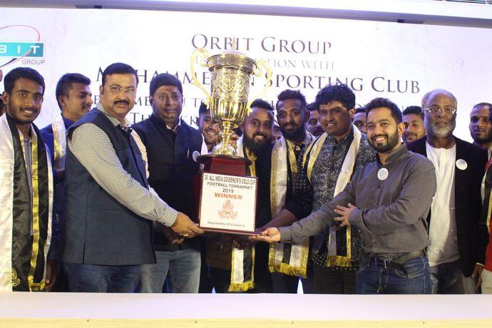Mohammedan Sporting Annual Awards Night 2019. (Photo courtesy: Mohammedan Sporting Club)