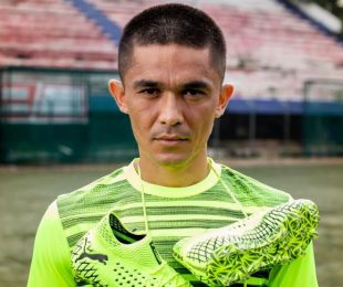 PUMA brand ambassador and India captain Sunil Chhetri. (Photo courtesy: PUMA)