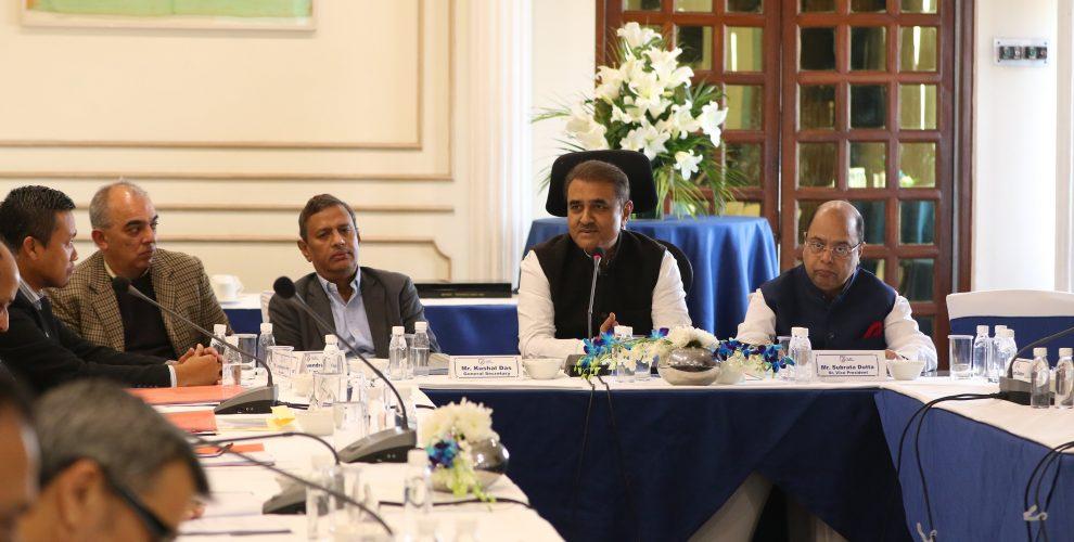 All India Football Federation (AIFF) Executive Committee meeting. (Photo courtesy: AIFF Media)