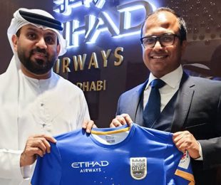 Etihad Airways partners with Mumbai City Football Club. (Photo courtesy: Mumbai City FC)
