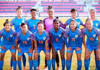 The Indian Women's national team at the South Asian Games 2019. (Photo courtesy: AIFF Media)