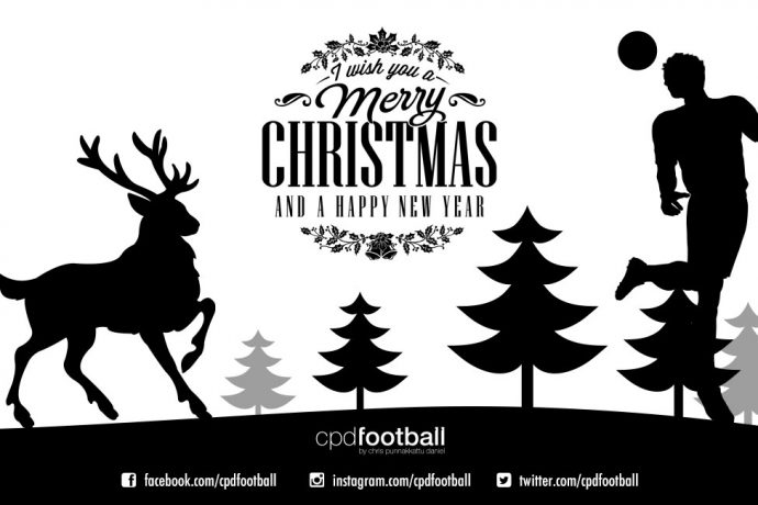 Merry Christmas & a Happy New Year from CPD Football
