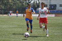 Indian Women's League (IWL) match action between BBK DAV FC and FC Kolhapur City. (Photo courtesy: AIFF Media)
