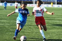 Indian Women's League (IWL) match action between Baroda Football Academy and BBK DAV FC. (Photo courtesy: AIFF Media)