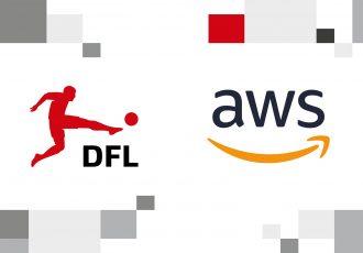 Bundesliga announce Amazon Web Services (AWS) as the league's official technology provider. (Image courtesy: DFL Deutsche Fußball Liga)