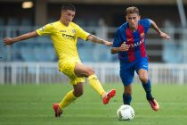 Nili Perdomo (right) in action for FC Barcelona. (Photo courtesy: Bengaluru FC)