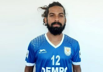Dempo Sports Club midfielder Pratesh Shirodkar. (Photo courtesy: Dempo SC)